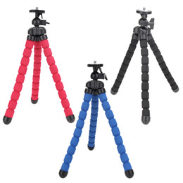 2019 trípodes de pulpo Soporte universal grande flexible del soporte del trípode de la cámara digital de Monopod DV del trípode para las cámaras de Nikon / Canon / Sony / Olympus rebajas trípodes de pulpo