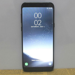 Wholesale Qualcomm Gps - 6.2 Inch full screen Fingerprint Goophone S8 Plus Qualcomm Snapdragon 835 Android 7.0 1GB 8GB 1280*720 HD 8MP 3G WCDMA Smartphone