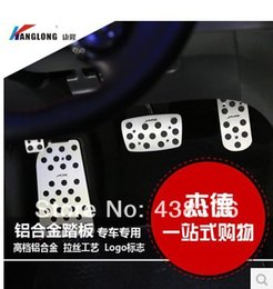 Wholesale Gas Brakes Clutch Pedals - Free shipping H0nda JADE Accelerator pedal High Quality Clutch Pedal Auto gas pedal Stainless steel brake pedals