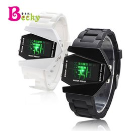 Wholesale Men S Watches Alarm - South Korea 's new men' s and women 's universal couple models of electronic watches ~ Arrow super handsome with light table
