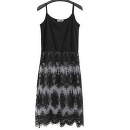 Wholesale Russia Dress - Wholesale- TAOVK 2016 new fashion Russia style women Sleeveless vest stitching lace harness dress