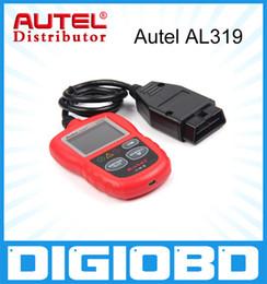 Wholesale Website Auto - Autel AL319 Original Auto Diagnostic Scan Autel AutoLink AL319 OBD II & CAN Code Reader Auto Link AL-319 Update Official Website