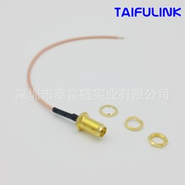 Wholesale Antenna Ring - Factory Supply of RPSMAK178 Ring Stripping SMA Female Antipole Antenna RF Connection Line Extension Line