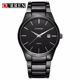 Wholesale Luxury Men Quartz Watch Curren - relogio masculino CURREN Luxury Brand Analog sports Wristwatch Display Date Men's Quartz Watch Business Watch Men Watch 8106