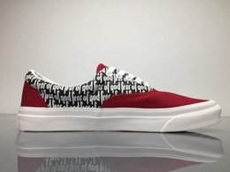 Wholesale Striped Band - Fear Of God x PacSun Era 97 Reissue Casual Shoes Mens Womens Shoes Men's Boots Man Canvas Shoes Red Black Skateboarding Boots Sneakers