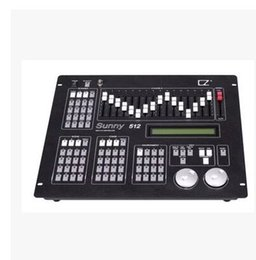 Wholesale dmx consoles - New Sunny Stage equipment DMX 512 Lighting Controller dj disco lighting console sunny dmx 512 moving head light controller