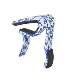 Wholesale Capo Wholesale - High quality new guitar tone tuner metal personality wood grain guitar accessories guitar capo Musical Instruments