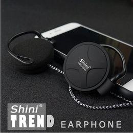 Wholesale Free Computer Telephone - ShiniQ940 Free Shipping Headphones 3.5mm Headset EarHook Earphone For Mp3 Player Computer Mobile Telephone Earphone Wholesale