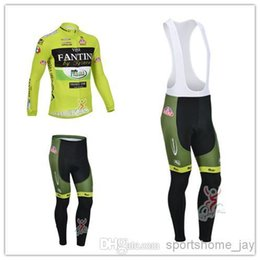 Wholesale Vini Fantini Cycle Jersey - HOT-2013 Vini Fantini Team winter Fleece cycling jersey long sleeve Cycling clothing+(bib) Pants Set winter thermal fleece cycling clothing