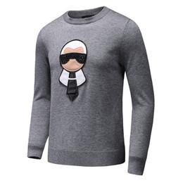 Wholesale Men Pullover Knitwear - Top Italian Brand GC Men Sweaters Autumn Winter cotton knitwear Luxury Famous Long-sleeve Woolen sweater 3D Design M-3XL big SIZE