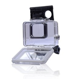 Wholesale Gopro Hero Dive Housing - 45M Waterproof Case Cover Housing Case for Go Pro Gopro Hero 5 Sport Camera with Black Edition
