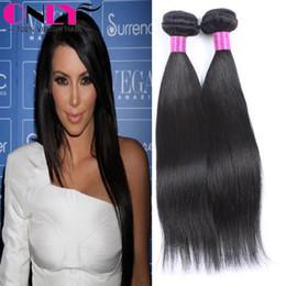 Wholesale Cheap Quality Malaysian Hair - Cheap Brazilian Hair Weaves 12 inch Brazilian Virgin Unprocessed Human Hair Straight Styles Good Quality Hair Hundles