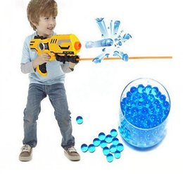 Wholesale Bullet For Toy Gun - FlyingTown wholesale 7   11MM dry water absorber shield water pistol for crystal bombs United States defender USP water pistol bullet