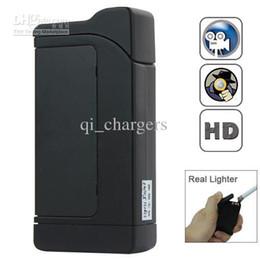 Wholesale Audio Lighter - Spy Lighter Cameras 2013 Newest Electric Lighter Spy Camera + Video + Audio + Motion Detection Real Lighter Hidden Mini Camera