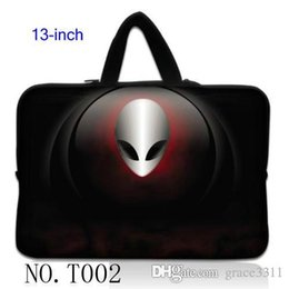 "Wholesale Neoprene Netbook Bag Sleeve - Alien Soft Sleeve Case Bag Pouch Cover For 13"" 13.3"" Macbook Pro   Air Netbook laptop"