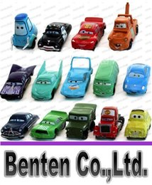 Wholesale Pixar Cars 14pcs - High Quality PVC Pixar Car Figures Toy Cars Toys 4-7cm Set for Gift Free Shipping 14pcs lot LLFA88