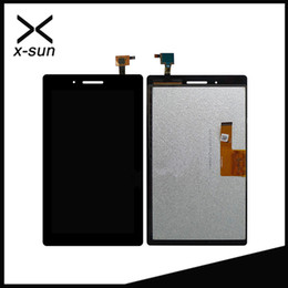Wholesale Wholesale Sun Screen - Wholesale- X-SUN For Lenovo TAB3 7 TB3-710 TB3-710I TB3-710F Touch Screen assembly + Lcd screen display Free Shipping