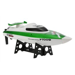 Wholesale toy boat races - Hot Sale RC Boat 2.4G 4CH Water Cooling System Self-righting 30km h High Speed Racing RC Speedboat Ship Toys