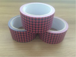 Wholesale Sticker For Handmade Products - 10m*50mm Kraft Paper Adhesive Tape Multifunction seal sticker for handmade product Wholesale