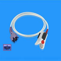 Wholesale Spo2 Monitor Prices - DB9 7Pin Masimo Reusable Adult Finger Clip SpO2 Sensor Probe Monitor Accessories Great Price Performance Ratio CMD0132A