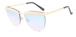 Wholesale Cover Magazine Fashion - LOWO Fashionable eyebrow point drill sunglasses, magazine cover sunglasses, fashion big frame sunglasses, 100 color wear glasses W132