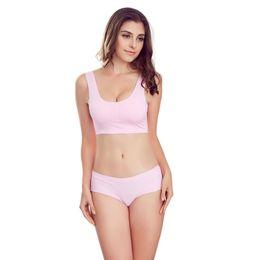 Wholesale Pink Boyshort - Wholesale-GUESNING New fashion women's sexy Solid lace panties VS Low Waist Lady's bikini hiphugger boyshort brief underwear for