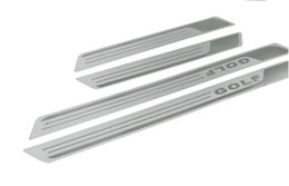 Wholesale Vw Golf Scuff Plate - Car Golf Door sill scuff plate Guards Sills stainless steel Fit VW Golf 7 MK7
