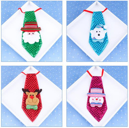 Wholesale Decoration Bow Tie - Christmas decorations Fashion Bow Tie Christmas luminous bow tie Adult children school decorations Christmas creative small gifts JF-220