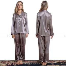 Wholesale Plus Satin Pajamas - Wholesale- Womens Silk Satin Pajamas Set Pajama Pyjamas Set Sleepwear Loungewear S,M,L,XL,2XL,3XL Plus Size__For All Seasons