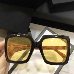 Wholesale Eye Designs Optical - Popular fashion style specially designed popular sunglasses G 0088SK square two-layer lens frame sunglasses and Optical glasses