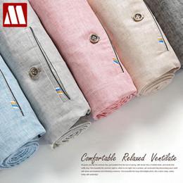 Wholesale Linen Dress Suit - Wholesale-Summer style Linen Men's pants skinny dress pants men business casual Straight trousers cotton formal Suit Pants mens pantalon
