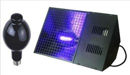 Wholesale Uv Light Show - Stage Lighting- High UV lamp output E40 400 w UV Black Light For Stage DJ Show Purple stage effect lights Free Shipping