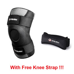 Wholesale Breathable Knee Brace - WINMAX Neoprene Adjustable Breathable Knee Brace Support Sleeve Patella Pad for Running Cycling Soccer Ball Basketball Against Further Damag