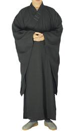 Xangai história unisex alta qualidade shaolin templo zen budista robe leigo monge meditação vestido de treinamento kung fu terno uniforme para o verão de