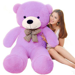 Wholesale Valentine Teddy Bear Low Price - 120cm Giant teddy bear LLF white pink big large plush stuffed toys kid baby dolls Christmas valentine gift for girls low price