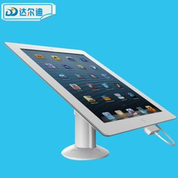 Wholesale Exhibit Displays - Security Tablet Security Stand for Ipad Anti theft Alarm Display Device ABS Magnetic Phone Flagship Shop Protection Exhibit Free DHL 4 Sets