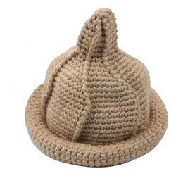 Wholesale Little Girls Knitted Hats - Cute Amazing Kids Infant Toddler Knitted Beanie Hat Warm Winter Little Boys Girls Cap Children Accessories