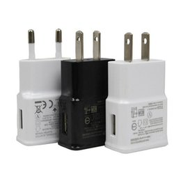 2019 samsung 5v 2a ac eu Carregador de Parede USB 5 V 2A AC Adaptador de Casa de Viagem AC EUA Plug UE para Samsung Galaxy S3 S4 S5 S6 Preto Branco samsung 5v 2a ac eu barato
