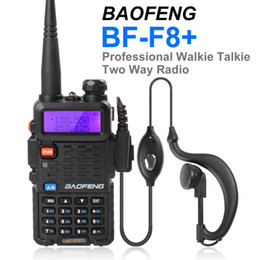 Wholesale Emergency Band - BF-F8+ Porable BAOFENG Dual Band Walkie Talkie Ham two way Radio with Emergency Alarm   Scanning Function SEC_034