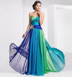 Wholesale Strapless Sexy Sequin Evening Gowns - New Long Chiffon Bridesmaidlong dresses Formal Gown Ball Party Cocktail Evening Prom Dress dresses evening wear
