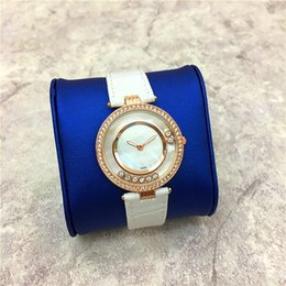 Wholesale Roll Drops - Top design Lady Wristwatch Gifts Accessories 15pcs DHL free Rolling Diamond Women watch Japan Movement High-grade aaa watches Drop shipping