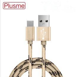 usb datenkabel verpackung Rabatt 1M Original Micro USB Kabel Lade Plusme Metalldraht Sync Daten übertragen Ladegerät Kabel für Handy plus Huawei Xiaomi nicht verpackt