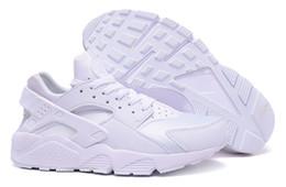 Sapatas de corrida famosos por atacado dos homens clássicos de Huarache dos treinadores de ar dos esportes - tamanho branco 5,5--11 supplier wholesale shoe for size 11 de Fornecedores de calçado grossista para tamanho 11