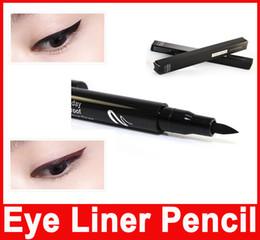 Wholesale Queen Stock - Party Queen Black Brown Waterproof Pen Liquid Eyeliner Eye Liner Pencil Make Up Beauty Comestics In Stock
