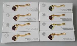 Wholesale Dermaroller Micro Needles - 0.2mm 0.25mm 0.3mm 0.5mm 0.75mm 1.0mm 1.5mm 2.0mm 540 Needles Derma Micro Needle Skin Roller Dermatology Therapy Microneedle Dermaroller