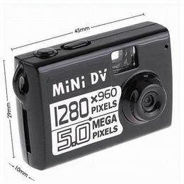 Wholesale Smallest Motion Detection Camera - Motion detection Mini DV World's smallest 5.0MP COMS Mini camera Digital Video recorder AVI 1280*960 resolution PC Webcam loop video