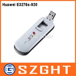 Wholesale Huawei 3g Dongle - Wholesale- Original Unlocked Huawei E3276 150Mbps 4G LTE USB Modem dongle 3G 4G usb data card