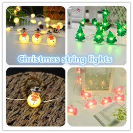 Wholesale Led String Bulb Multicolor - Wholesale Christmas lights 30 LEDS 3M led strip light lamp led Xmas lights Party String Light bulb festival decoration ouc2054