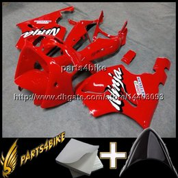 Wholesale Zx 7r - 23colors+8Gifts RED motorcycle cowl For Kawasaki ZX-7R 1996-2003 ZX7R 1996 1997 1998 1999 2000 2001 2002 2003 ABS Plastic Fairing