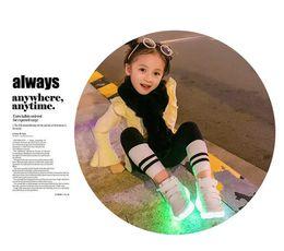 Wholesale Trend Shoes Wholesale - 2017 new trend Cool colorful LED light-up shoe USB charging Wholesale children's colorful luminous shoes Flash shoes Low to help unisexshoe